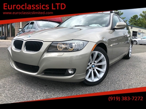 2011 BMW 3 Series for sale at Euroclassics LTD in Durham NC
