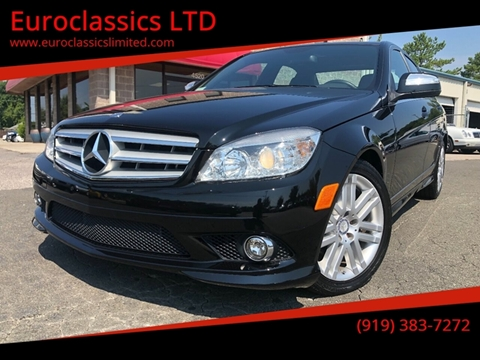 2008 Mercedes-Benz C-Class for sale at Euroclassics LTD in Durham NC