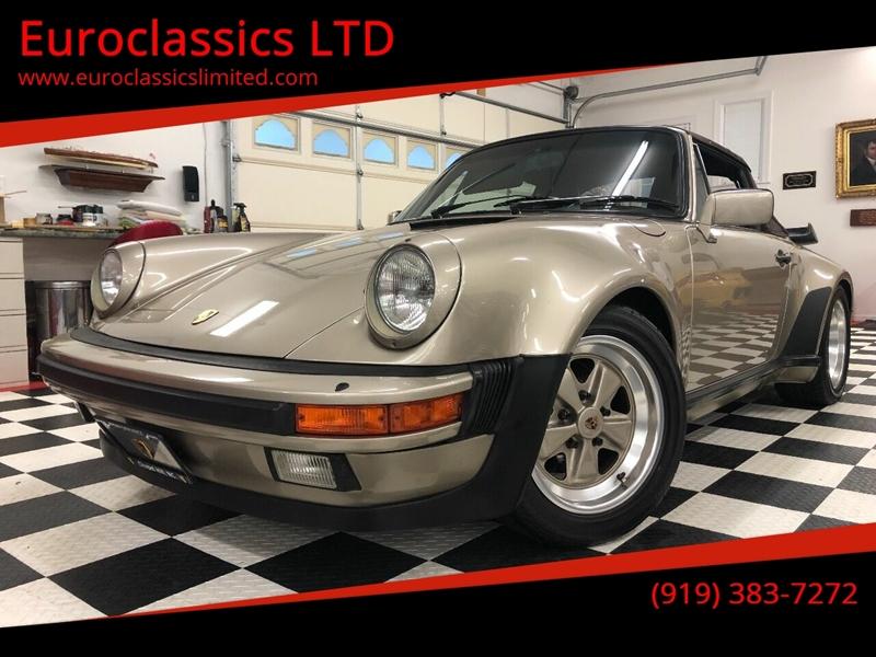 1985 Porsche 911 for sale at Euroclassics LTD in Durham NC