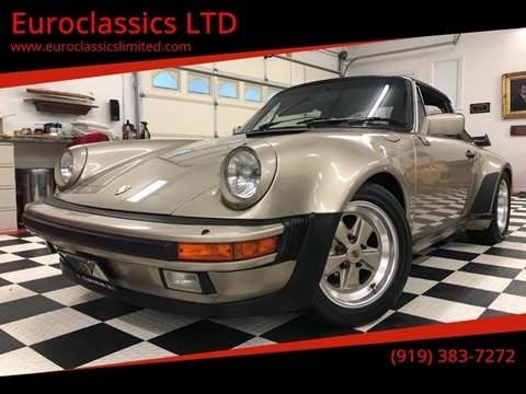 1985 Porsche 911 for sale at Euroclassics LTD in Durham NC