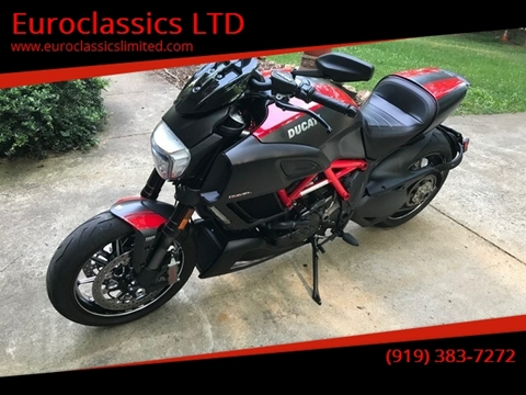 2015 DUCATTI DIAVEL for sale at Euroclassics LTD in Durham NC