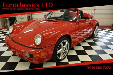 1991 Porsche 911 for sale at Euroclassics LTD in Durham NC