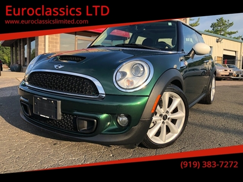 2011 MINI Cooper for sale at Euroclassics LTD in Durham NC