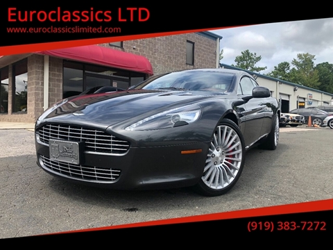 2011 Aston Martin Rapide for sale at Euroclassics LTD in Durham NC