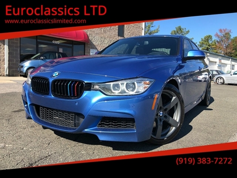 2013 BMW 3 Series for sale at Euroclassics LTD in Durham NC