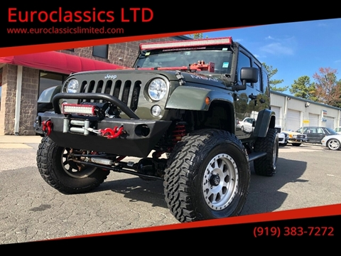 2015 Jeep Wrangler Unlimited for sale in Durham, NC