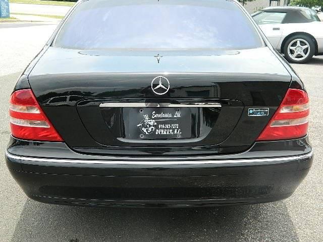 2002 Mercedes-Benz S-Class S 500 4dr Sedan - Durham NC