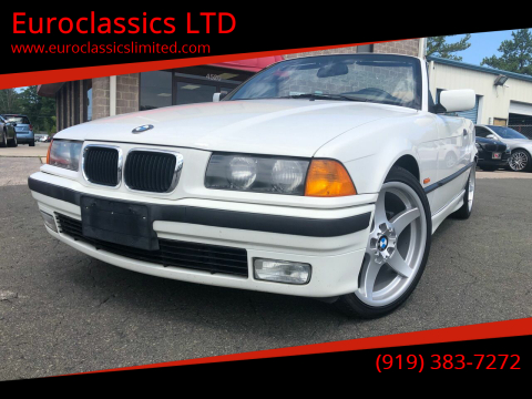 1997 BMW 3 Series for sale at Euroclassics LTD in Durham NC