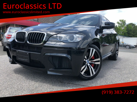2013 BMW X6 M for sale at Euroclassics LTD in Durham NC