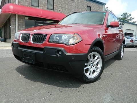 2004 BMW X3 for sale at Euroclassics LTD in Durham NC