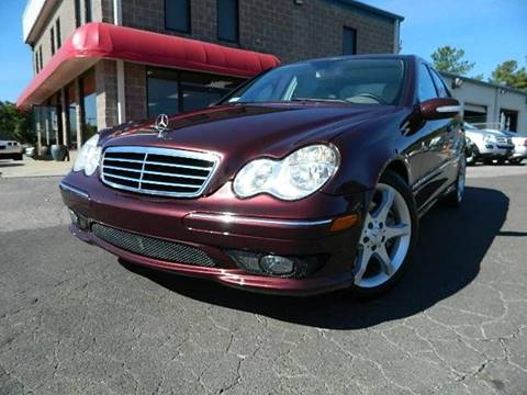 2007 Mercedes-Benz C-Class for sale at Euroclassics LTD in Durham NC
