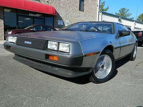 1983 DeLorean DMC-12 for sale at Euroclassics LTD in Durham NC