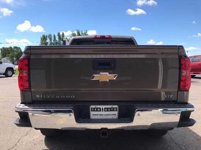 2015 Chevrolet Silverado 1500 4x4 LTZ 4dr Crew Cab 5.8 ft. SB w/Z71 - Dilworth MN