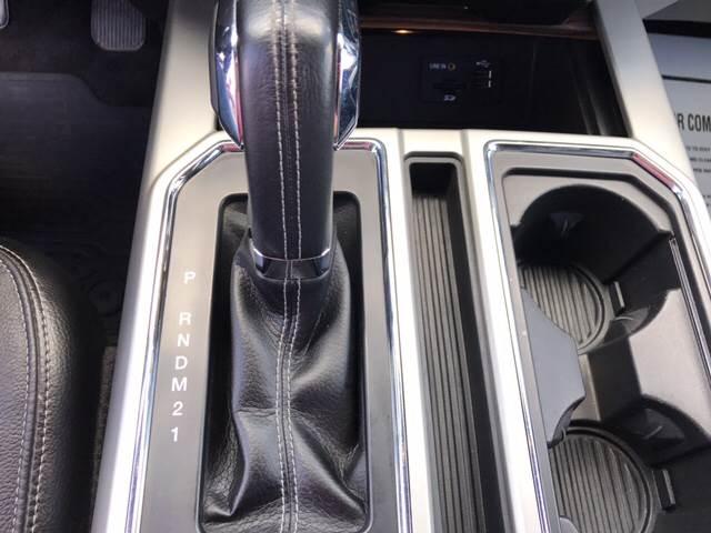 2015 Ford F-150 4x4 Lariat 4dr SuperCrew 5.5 ft. SB - Dilworth MN