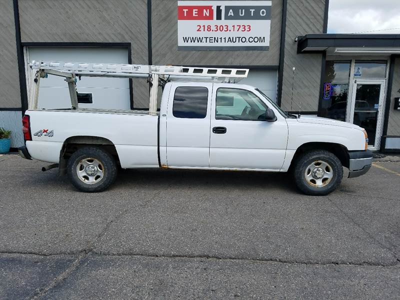 2004 Chevrolet Silverado 1500 4dr Extended Cab LS 4WD SB - Dilworth MN