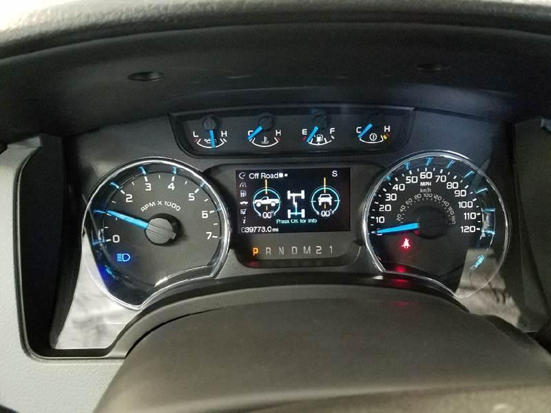 2013 Ford F-150 4x4 XLT 4dr SuperCrew Styleside 6.5 ft. SB - Dilworth MN