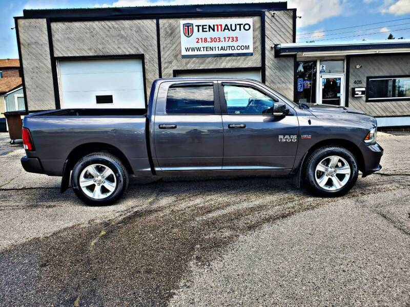 2016 RAM Ram Pickup 1500 for sale at Ten 11 Auto LLC in Dilworth MN