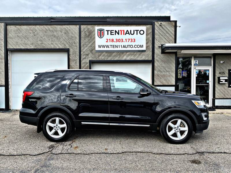 2016 Ford Explorer for sale at Ten 11 Auto LLC in Dilworth MN
