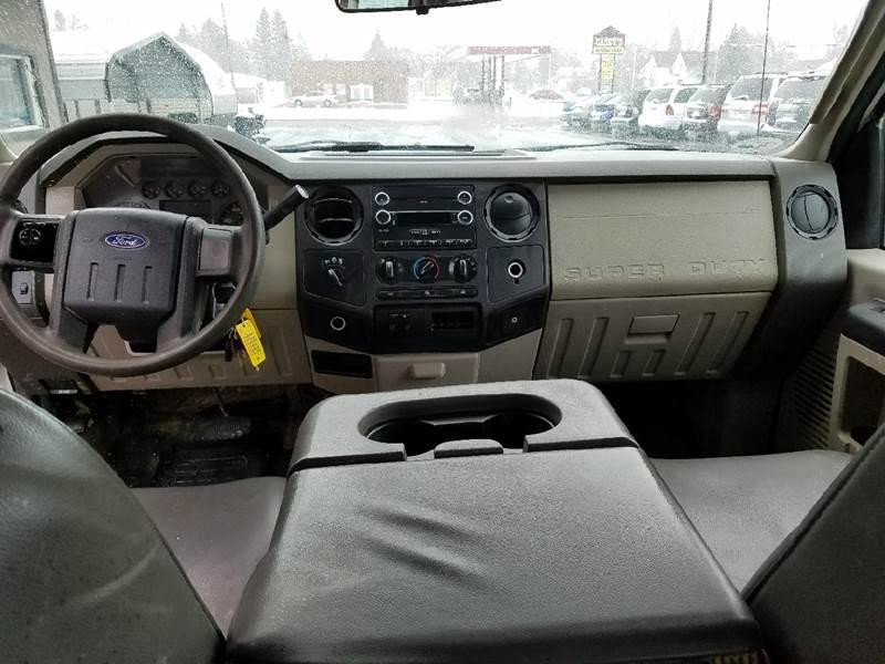 2010 Ford F-250 Super Duty 4x4 XL 4dr Crew Cab 8 ft. LB Pickup - Dilworth MN