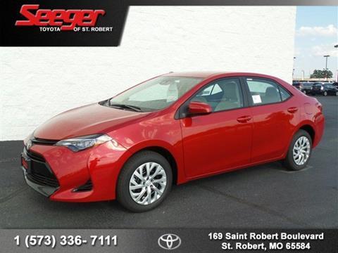 2017 Toyota Corolla for sale in Saint Robert, MO