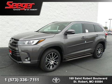 2018 Toyota Highlander for sale in Saint Robert, MO