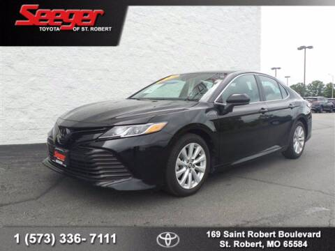 2019 Toyota Camry for sale at SEEGER TOYOTA OF ST ROBERT in St Robert MO