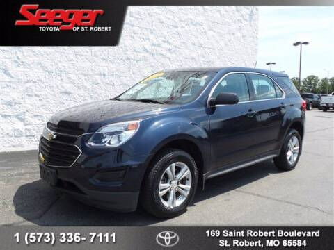 2016 Chevrolet Equinox for sale at SEEGER TOYOTA OF ST ROBERT in St Robert MO