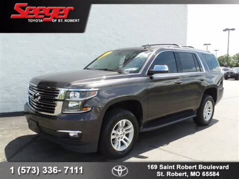 2015 Chevrolet Tahoe for sale at SEEGER TOYOTA OF ST ROBERT in St Robert MO