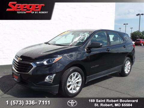 2018 Chevrolet Equinox for sale at SEEGER TOYOTA OF ST ROBERT in St Robert MO