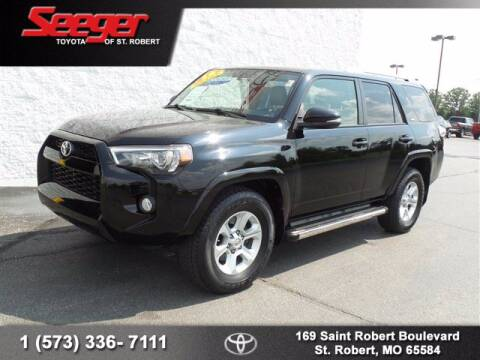 2016 Toyota 4Runner for sale at SEEGER TOYOTA OF ST ROBERT in St Robert MO
