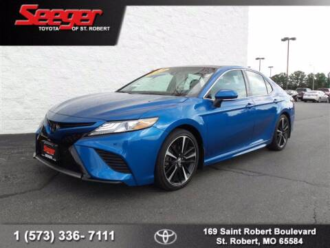 2018 Toyota Camry for sale at SEEGER TOYOTA OF ST ROBERT in St Robert MO