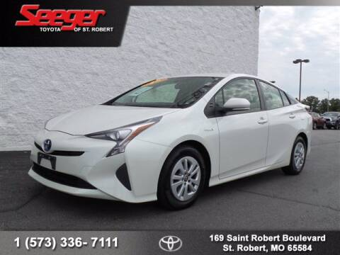 2016 Toyota Prius for sale at SEEGER TOYOTA OF ST ROBERT in St Robert MO