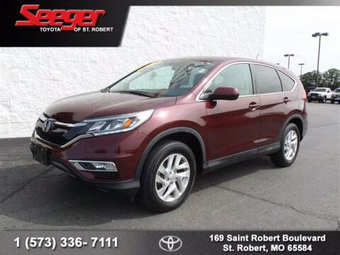 2015 Honda CR-V for sale at SEEGER TOYOTA OF ST ROBERT in St Robert MO