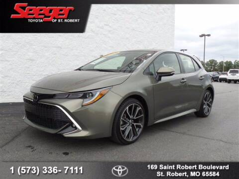 2019 Toyota Corolla Hatchback for sale at SEEGER TOYOTA OF ST ROBERT in St Robert MO