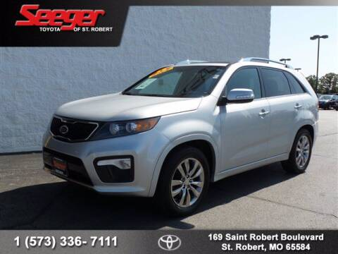 2013 Kia Sorento for sale at SEEGER TOYOTA OF ST ROBERT in St Robert MO