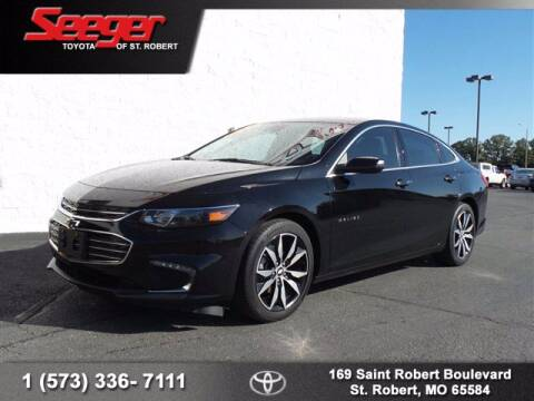 2017 Chevrolet Malibu for sale at SEEGER TOYOTA OF ST ROBERT in St Robert MO