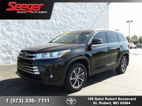 2019 Toyota Highlander for sale at SEEGER TOYOTA OF ST ROBERT in St Robert MO