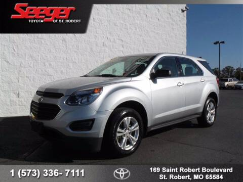 2017 Chevrolet Equinox for sale at SEEGER TOYOTA OF ST ROBERT in St Robert MO