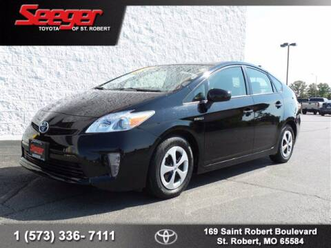 2014 Toyota Prius for sale at SEEGER TOYOTA OF ST ROBERT in St Robert MO