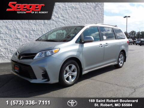 2020 Toyota Sienna for sale at SEEGER TOYOTA OF ST ROBERT in St Robert MO