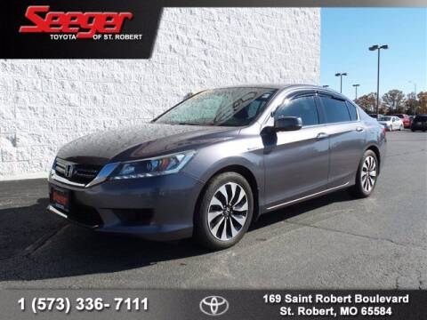 2015 Honda Accord Hybrid for sale at SEEGER TOYOTA OF ST ROBERT in St Robert MO
