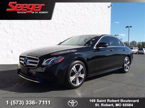 2018 Mercedes-Benz E-Class for sale at SEEGER TOYOTA OF ST ROBERT in St Robert MO