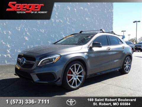 2016 Mercedes-Benz GLA for sale at SEEGER TOYOTA OF ST ROBERT in St Robert MO