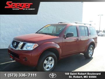 2008 Nissan Pathfinder for sale in Saint Robert, MO