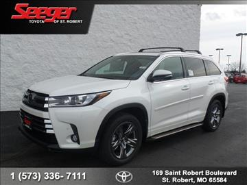 2017 Toyota Highlander for sale in Saint Robert, MO