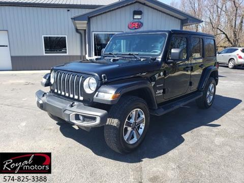 2018 Jeep Wrangler Unlimited for sale in Middlebury, IN