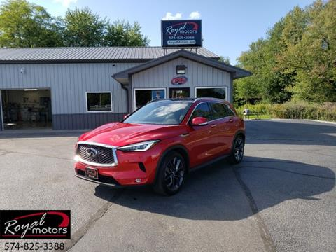 2019 Infiniti QX50 for sale in Middlebury, IN