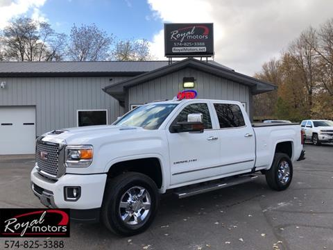 2017 GMC Sierra 3500HD for sale in Middlebury, IN