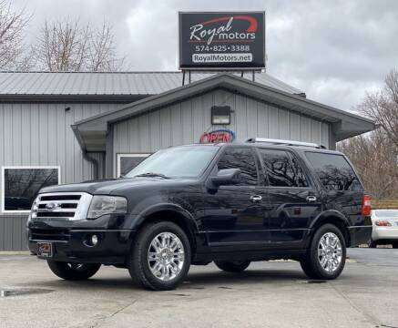 2014 Ford Expedition Limited for sale at ROYAL MOTORS in Middlebury IN