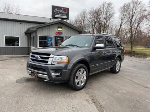 2016 Ford Expedition Platinum for sale at ROYAL MOTORS in Middlebury IN